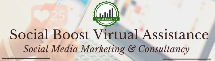 Social Boost Virtual Assistance