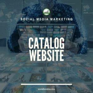 Website – Catalogue