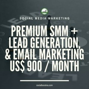 Social Media Management – Premium Plan + Lead Generation & Email Marketing