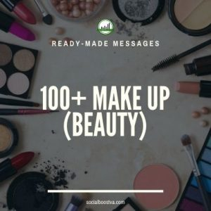 Health Ready-Made Messages: 100+ Make Up (Beauty)