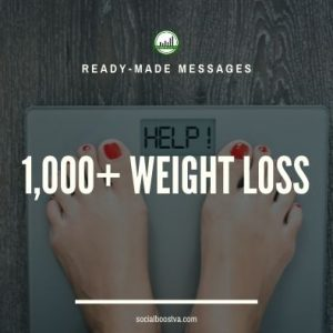 Health Ready-Made Messages: 1,000+ Weight Loss