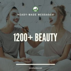 Health Ready-Made Messages: 1200+ Beauty