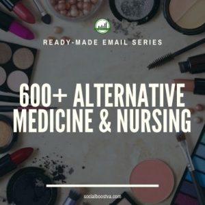 Health Ready-Made Messages: 600+ Alternative Medicine & Nursing