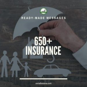 Business & Finance Ready-Made Messages: 650+ Life Insurance & General Insurance